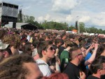 crowd during megadeth's performance at download festival 2012