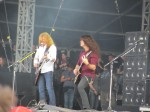 dave mustaine chris broderick from megadeth live at download festival 2012-03