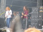dave mustaine chris broderick from megadeth live at download festival 2012