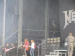 david ellefson chris broderick dave mustaine from megadeth live at download festival 2012