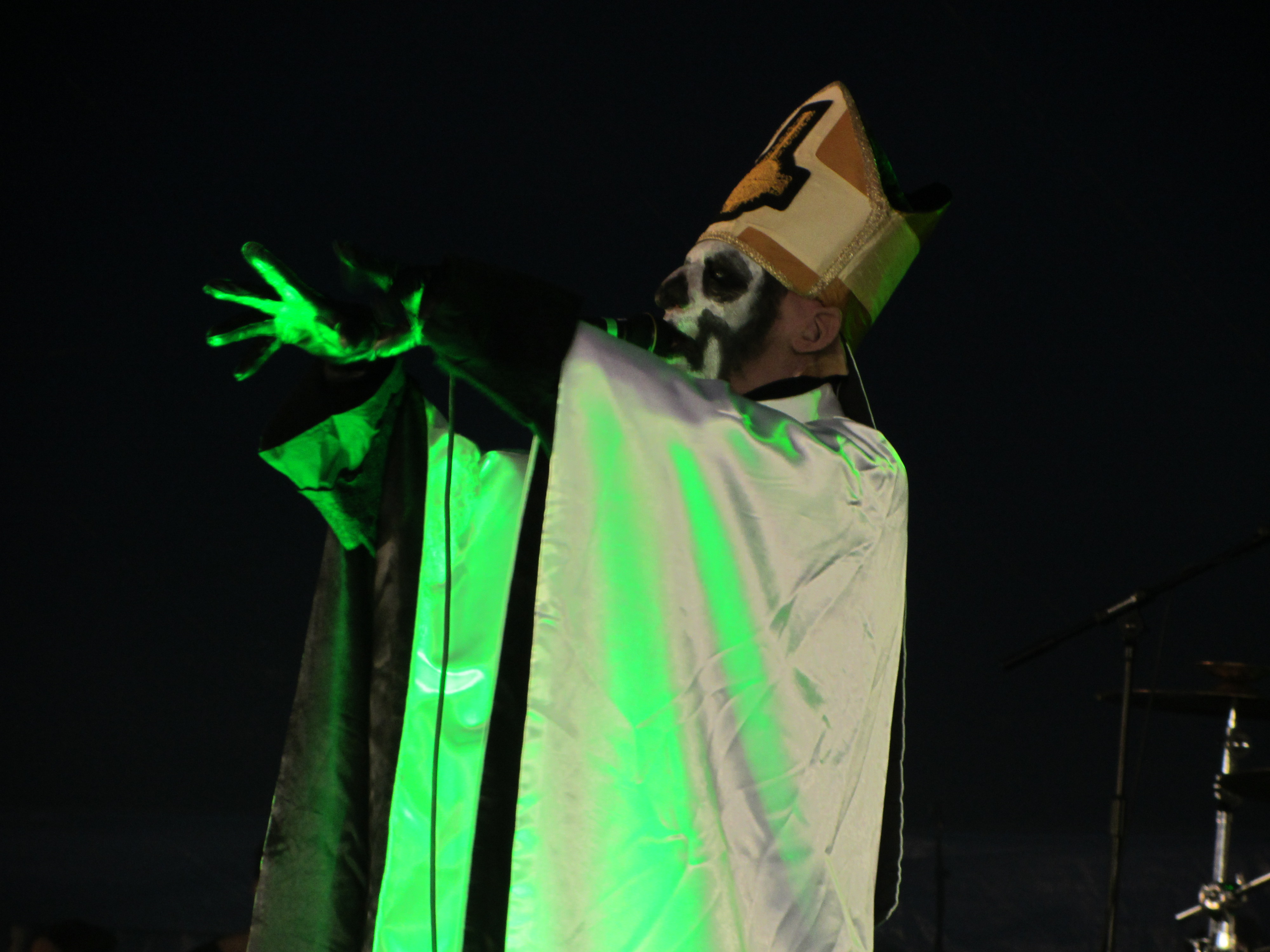 Ghost (Swedish band) in pictures : live at Download Festival, 2012