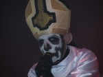 papa emeritus from ghost live at download festival 2012 - 02