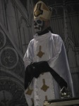 papa emeritus from ghost live at download festival 2012 - 03