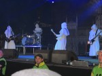 the nameless ghouls from ghost live at download festival 2012