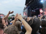 crowd during black sabbath's performance on jim marshall stage at download festival 2012 - 01