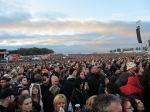crowd during metallica's performance on jim marshall stage at download festival 2012 - 01