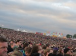 crowd during metallica's performance on jim marshall stage at download festival 2012