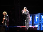 geezer butler and ozzy osbourne black sabbath live on jim marshall stage at download festival 2012