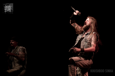 iced earth live bangalore open air 2013 absurd history