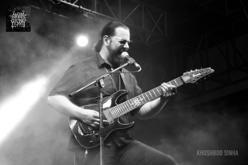 ihsahn live at bangalore open air 2013 absurd history 01
