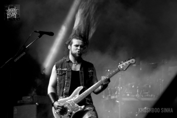 luke appleton iced earth live bangalore open air 2013 absurd history